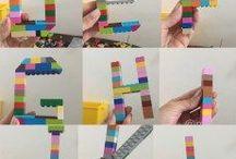 Projetos com Lego / Lego por todas as partes. O que podemos fazer com essas precinhas coloridas??