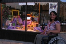 Gülay's Gallery / a window into the world of disabled Okçular artist, Gülay Çolak