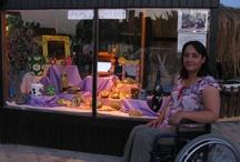 Gülay's Gallery / a window into the world of disabled Okçular artist, Gülay Çolak http://gulaysgallery.org
