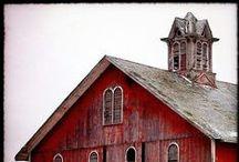 workroom C: barn red (red #3) / by Workroom C by Carolyn Rebuffel Designs