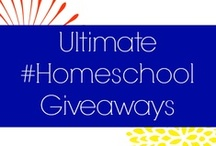Ultimate #Homeschool Giveaways / Awesome Giveaways for Homeschoolers, from Homeschoolers. / by Heather Nieman (Homeschooling On Faith and Coffee)