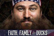 Duck Commander- Faith, Family, & Ducks  / by Tammy Griffith