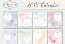 2015 Calendar / 2015 Desk Calendar comes in a CD case with a different image for each month. Want one? Pop on over to www.devereuxcreative com.au to purchase one.