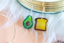 DIY / Jewelry / Create earrings, bracelets, pins, necklaces and more with this collection of DIY jewelry pins using a variety of techniques, including beadwork, polymer clay, Shrinky Dinks and more!