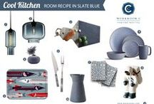 Room Recipe: Slate Blue / by Workroom C by Carolyn Rebuffel Designs