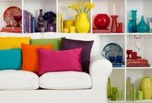 Brighter Home: Color / Our favorite uses of bright color in the home.  / by Direct Energy