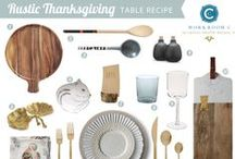 Holiday Table / by Workroom C by Carolyn Rebuffel Designs