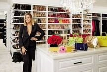 Celebrity Closets! / We all love to sneak a peak into famous people's home...but don't we really want to see inside their closets?