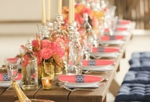 •                Table Settings for Party & Weddings