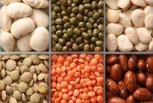 Mausteet, pähkinät, siemenet, palkokasvit, viljat