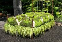 Recycling creatively in the garden / In the garden - Recycle, Reuse, Restore