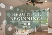 """Beautiful Beginnings / """"Sometimes the smallest things take up the most room in your heart."""" - Winnie the Pooh / by D.R. Horton"""