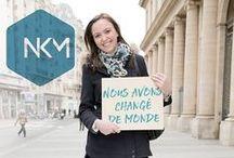 Nous avons changé de monde.- NKM / Nous avons changé de monde. En Librairie et en commande sur http://www.amazon.fr/dp/2226324801