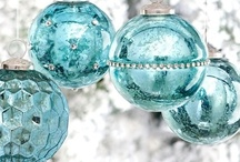Christmas in Aqua,Teals & Blues-My Sister's Favorite Colors