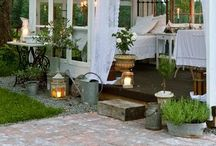 Spaces :: outside / Garden, patio, and outdoor living inspiration.