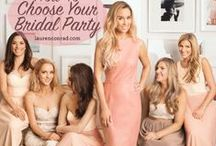 Bridal Party | TopWedding / Bridesmaid dresses, or just invited to join the wedding, everyone dress beautiful, and how about you? Maybe you can find your Mr Right in the wedding party! :DD