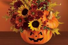 Spooky Surprise / Spooky and cute floral arrangements are perfect for decorating the home or office at Halloween.