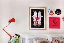 kids' room. / by Peonies & Polaroids