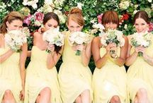 Bridesmaids | TopWedding / You are certainly pretty at the wedding, but with your bridesmaids, you are shining!