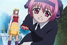101 Anime - Elfen Lied / Lucy is part of a genetic experiment, able to dismember victims with invisible arms. Lucy loses her memory in the process of her escape from the military compound and takes refuge with two sisters. Renamed Nyu, she still retains traces of her killer nature, shockingly revealed when the gov't send commandos and another mutant assassin to bring her back. In this final volume, the mysterious organisation must choose whether they can release the deadliest mutant in their arsenal to hunt Lucy down. / by 101 Films