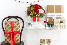 Gifts for Her / Holiday floral gifts for her. Beautiful Christmas keepsakes that she can cherish for years to come.