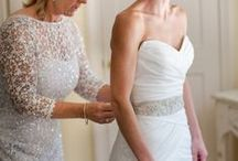 Sashes | TopWedding / A beautiful sash catch eyes from a dress. / by TopWedding