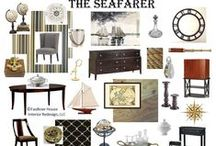 The Seafarer display at the 2014 Fall Capital Home Show / The design inspirations for one of 6 dining rooms for IRSA's Serving Up Style showcase at the 2014 Fall Capital Home Show