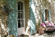 French Country Style / The Charm of a French Country Cottage