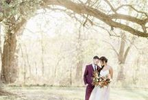 ∙ Styled Shoot: Blue Bell Farm Fire ∙
