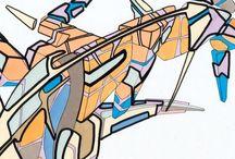 Créations personnelles – 2006 / Mes créations personnelles de 2006, essentiellement des dessins.