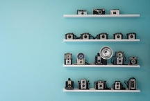 Old Cameras / Ideas and/or inspiration for displaying my camera collection. / by Stephen Haas