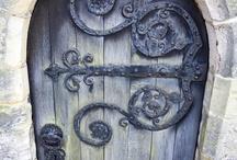 Behind the door...... / by Cari M