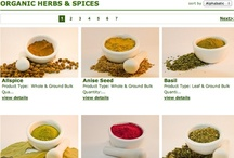 Organic Herbs & Spices / We have a wide variety of USDA Certified Organic & Fair Trade Certified Herbs & Spices. www.hqorganics.com