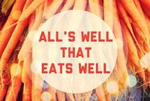 Eat Clean, Train Mean / Dieting is a fad. Living a healthy lifestyle is forever.