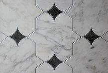 Materials Style / Curious and practical applications for walls, floor in stone, porcelain tile, and wood.  / by Alfonsina Romero