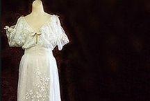 Antique Fashion: Victorian & Edwardian