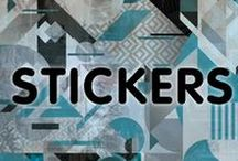 Ink Monstr - Stickers / Ink Monstr is an extensive in-house custom print and design firm that specializes in marketing, graphic design, print production, and installation.