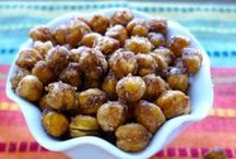 Organic Indian Chickpea Poppers / This is a delicious and healthy snack idea, one the whole family will be sure to enjoy!