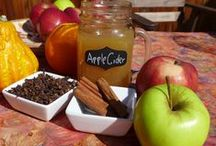 Organic Apple Cider / This homemade Apple Cider that is sure to make you reminisce of pumpkin picking and hay rides when you were a child.