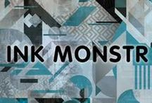 Ink Monstr / This is our main board featuring our best design and installations. Ink Monstr is an extensive in-house custom print and design firm that specializes in marketing, graphic design, print production, and installation.