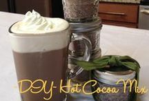 DIY Hot Cocoa Mix / This is a super simple dry mix that's perfect for last-minute gifts.  I particularly love it for office or teacher gifting. Just add it to a pretty container or a small mason jar with a bow and you have at least 6-12 gifts ready to go at a moments notice!