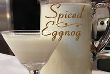 Spiced Eggnog / This eggnog recipe requires a little more time than the Hot Buttered Rum Apple Cider recipe, but, it's just as delicious. It not only makes a great holiday party cocktail but add it to a mason jar with a bow and you have a great hostess gift for any eggnog fan.