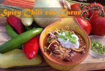 Spicy Chili con Carne / To celebrate National Chili Day this February 27th, HQO is sharing one of our favorite chili recipes!