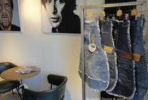 Recycled Denim & more...By T-sew / Unieke, stoere en hippe Tassen, schortjes en meer van gerecycelde Denim.