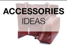 Accessories DIY & Ideas / Ideas about recycled, reused, upcycled or repurposed objects into nice accessories!