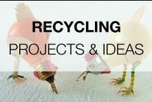 """Recycling Projects & Ideas / Share all your recycled, upcycled, repurposed & reclaimed ideas with us! Please PIN only #7 at a time ! But, there is **NO** 24 Hour limit ! This is a high quality, safe, family oriented & """"G"""" rated board. If you are a #Blogger, please feel free to add friends ! No #Etsy, #Google or #Tumblr pins. Any spam will be reported to Pinterest. Thanks and Have Fun !"""