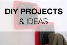DIY Projects & Ideas / DIY board focusing on DIY projects & ideas made from recycled & repurposed materials! You'll find some inspirations with treasures you can find in your home :)