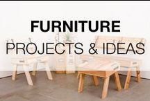 Recycled Furniture Projects & Ideas / Board dedicated to all kind of furniture made from recycled, upcycled or repurposed objects or materials!