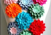 Sewing - Felt, flowers, etc