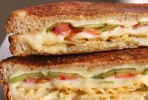 Lunch: Sandwiches and more / lunch | sandwiches | hot sandwiches | cold sandwiches | sandwich recipes | sandwich recipe | deli sandwich